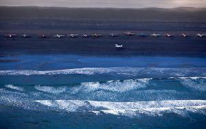 Low Tide Beach Fly-In, Alaska