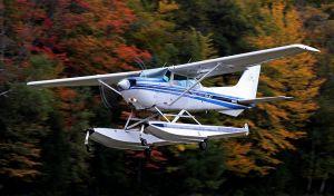 Float Flying, Wisconsin Northwoods