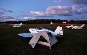 RV Camping, Washington Island, Wisconsin