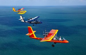 AirCams Enroute to Key West