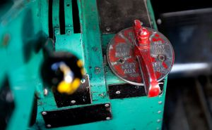 DC-3 Fuel Selector, Yellowknife, NWT
