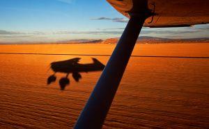 Lakebed Landing, Edwards Air Force Base